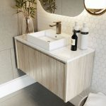 Norway Forest 750mm Wall Hung Vanity