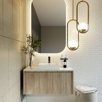 Norway Forest Wall Hung Vanity For Bathroom 900mm