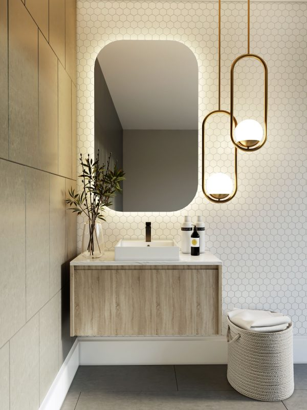 Norway Forest Wall Hung Vanity For Bathroom 900mm Kbwarehouse